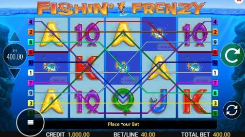 Fishin' Frenzy Megaways UK Slots