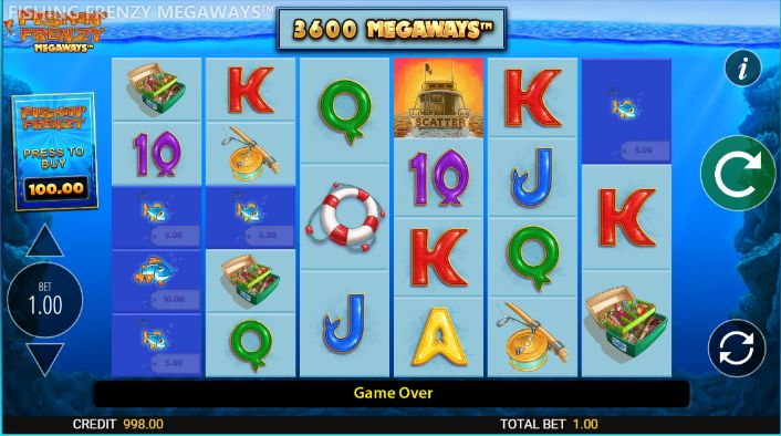 Fishin Frenzy Megaways UK slot game