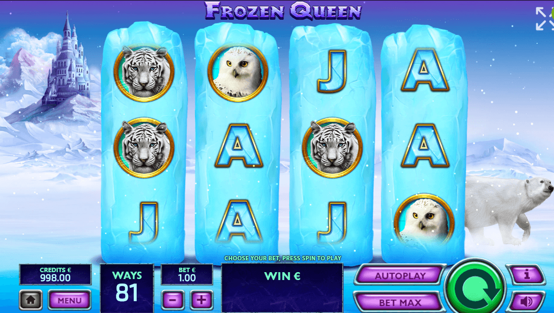 Frozen Queen UK slot game