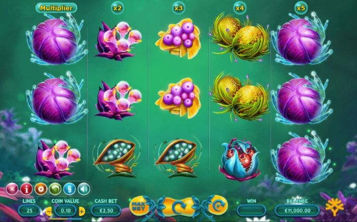Fruitoids UK slot game
