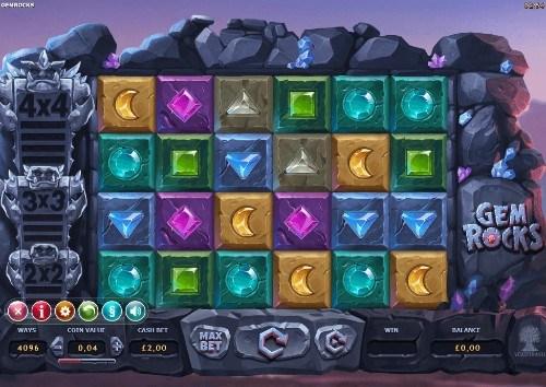 Gem Rocks UK slot game