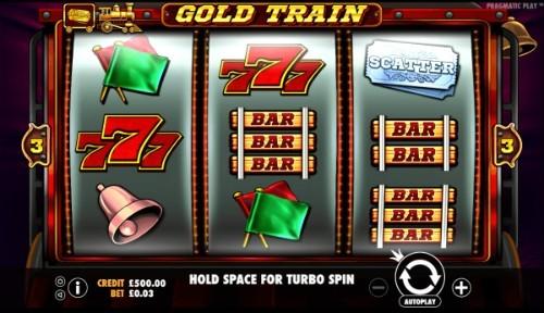 Gold Train UK slot game