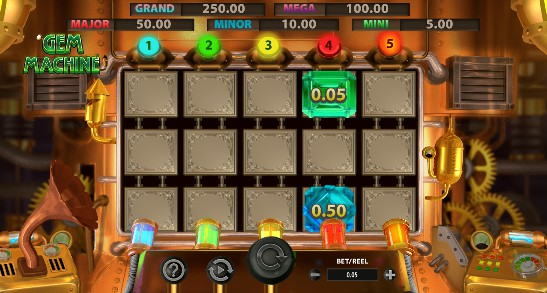 The Gem Machine UK slot game