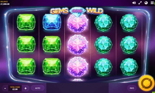 Gems Gone Wild UK slot game