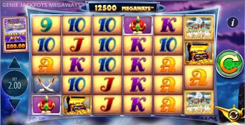 Genie Jackpots Megaways UK slot game