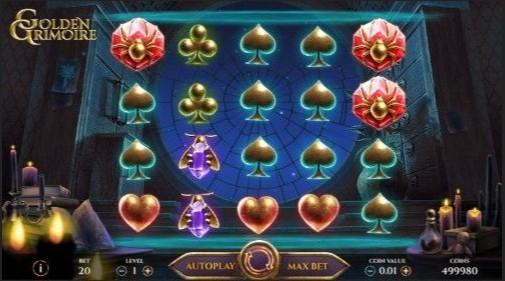 Golden Grimoire UK Slots