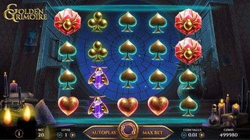 Golden Grimoire UK slot game