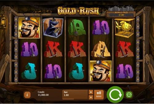 Gold Rush UK slot game