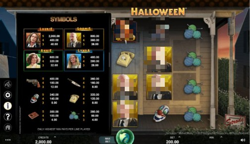 Halloween UK Slots