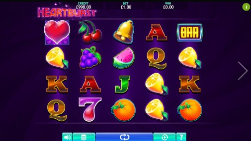 Heartburst UK Slots