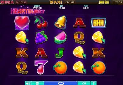 Heartburst Jackpot UK slot game