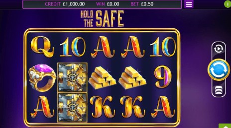 Hold the Safe UK slot game