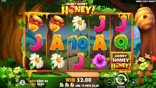 Honey Honey Honey UK slot game