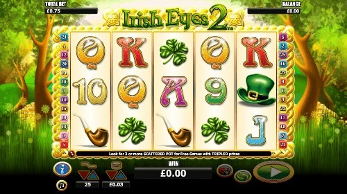 Irish Eyes 2 UK slot game