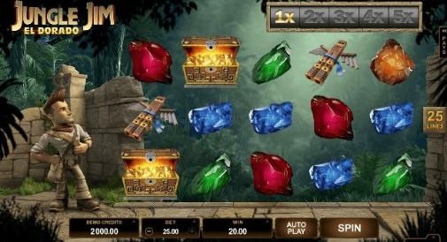 Jungle Jim: El Dorado UK Slot