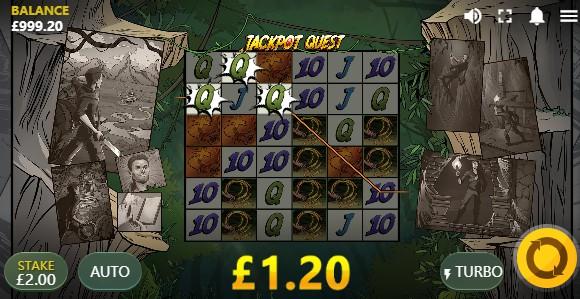 Jackpot Quest UK slot game