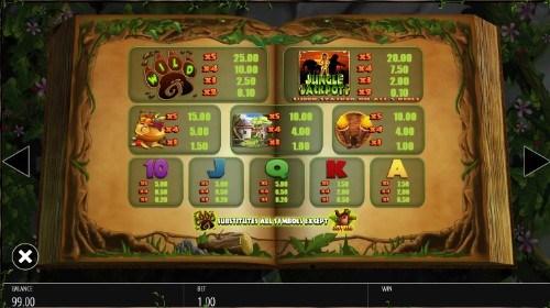Jungle Jackpots UK slot game