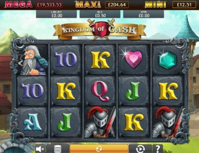 Kingdom of Cash Jackpot UK slot game