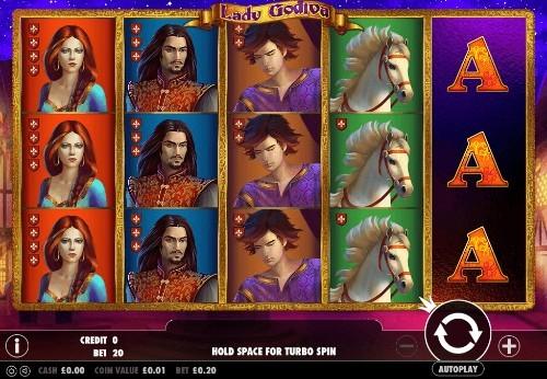 Lady Godiva UK slot game