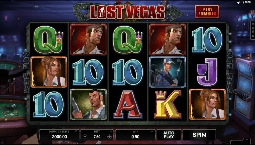 Lost Vegas UK slot game
