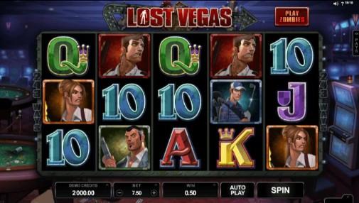 Lost Vegas UK Slots