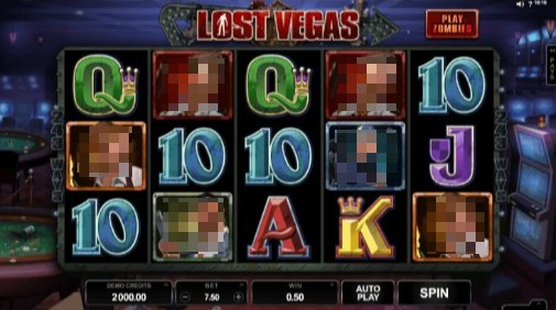 Lost Vegas UK Slots