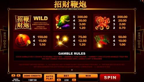 Lucky Firecracker UK slot game
