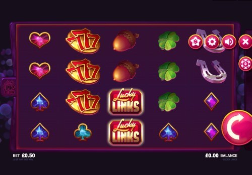 Lucky Links UK slot game