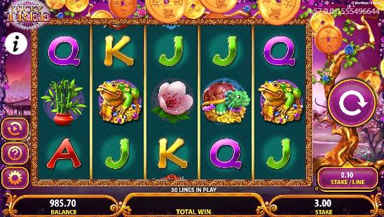 Lucky Tree UK slot game