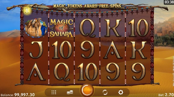 Magic of Sahara UK slot game