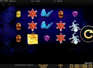 Magnificent Jewels UK slot game