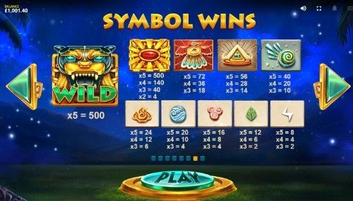 Mayan Gods UK slot game