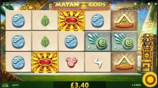Mayan Gods UK Slot