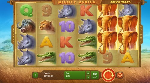 Mighty Africa UK slot game