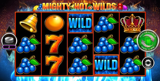 Mighty Hot Wilds UK slot game