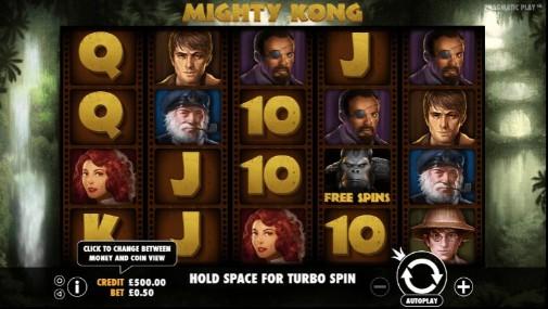 Mighty Kong UK Slots