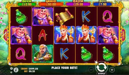 Monkey Warrior UK slot game
