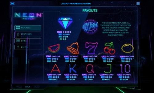 Neon Jungle UK slot game