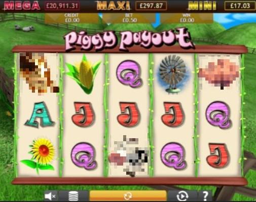 Piggy Payout Jackpot UK Slot