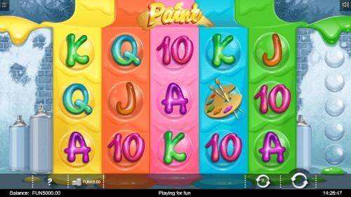 Paint UK slot game