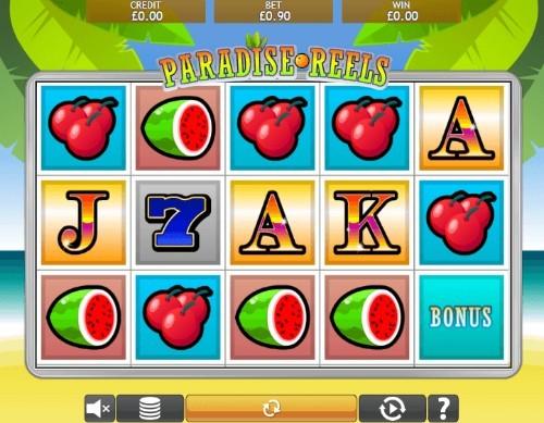 Paradise Reels UK slot game