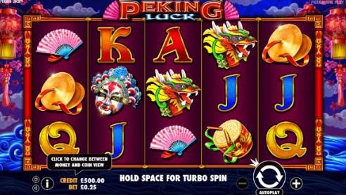 Peking Luck UK slot game