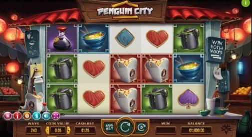 Penguin City UK slot game