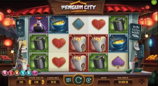Penguin City UK Slot