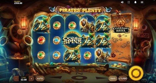 Pirates Plenty UK slot game