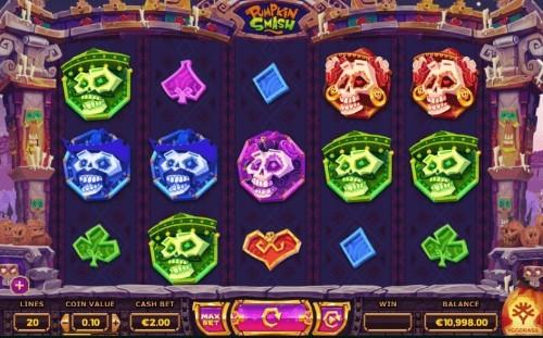 Pumpkin Smash UK slot game
