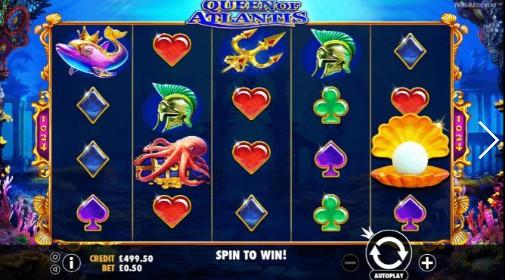 Queen Of Atlantis UK Slots