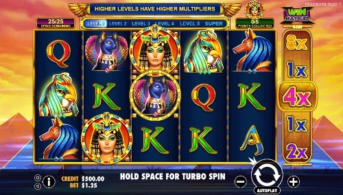 Queen Of Gold UK slot game