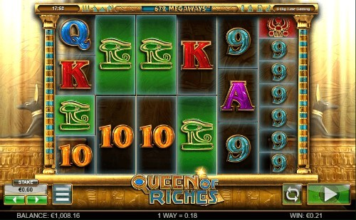 Queen Of Riches UK slot game
