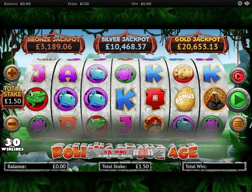 Rolling Stone Age UK slot game